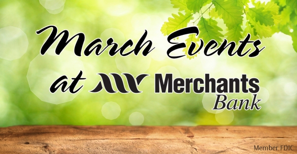 Merchants Bank Community Events