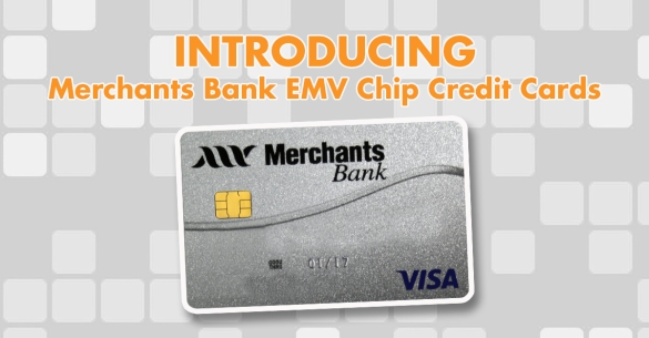 Merchants Bank, credit card