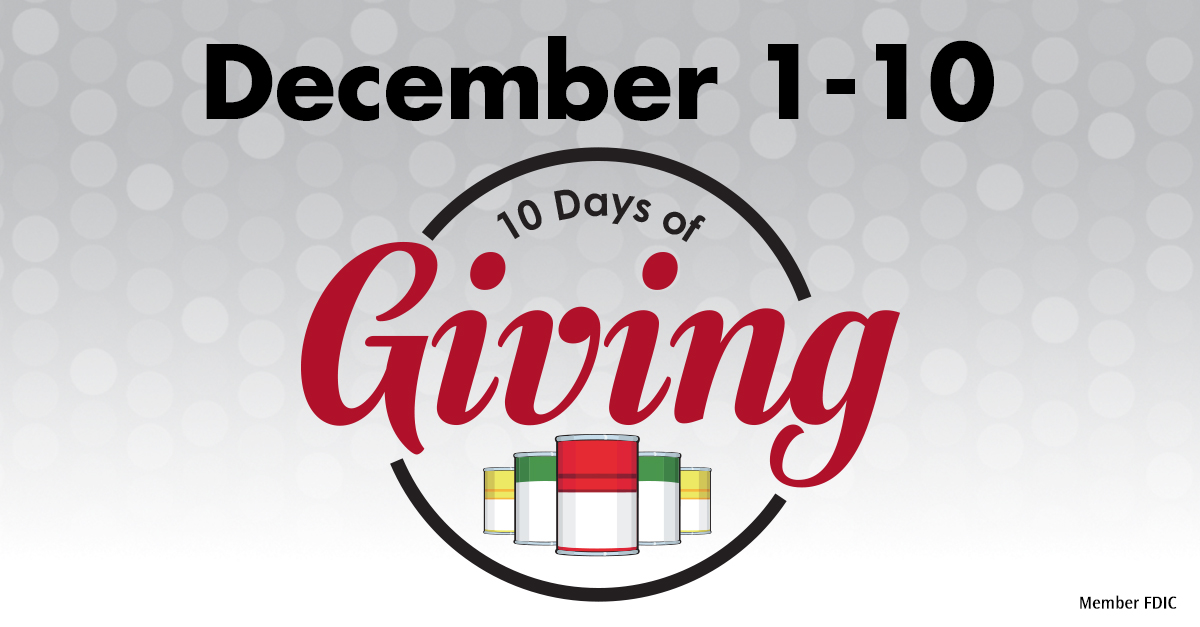 10 Days of Giving
