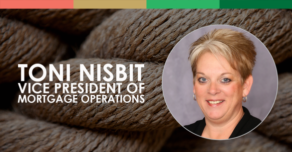 Toni Nisbit, Vice President of Mortgage Operations