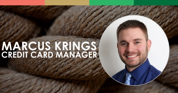 Marcus Krings, Credit Card Manager