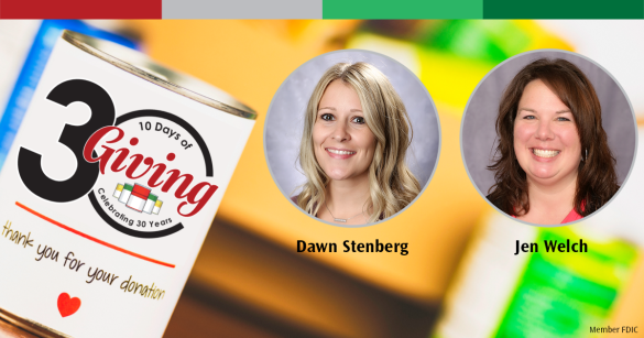 Jennifer Welch and Dawn Stenberg Named 10 Days of Giving Co-Chairs