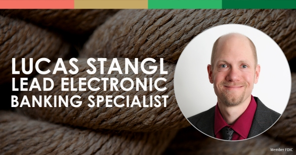 Lucas Stangl, Lead Electronic Banking Specialist