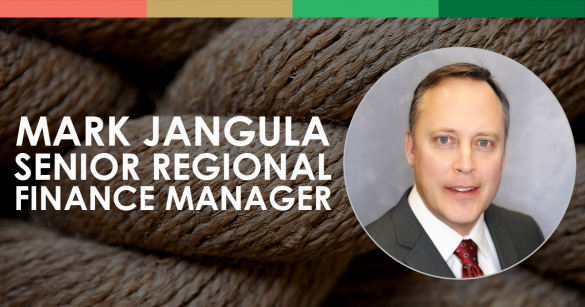 Mark Jangula, Senior Regional Finance Manager