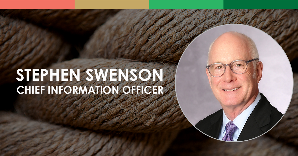 Stephen Swenson, Chief Information Officer