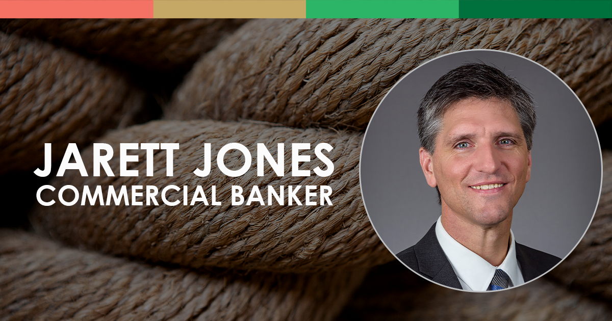 Jarett Jones, Commercial Banker