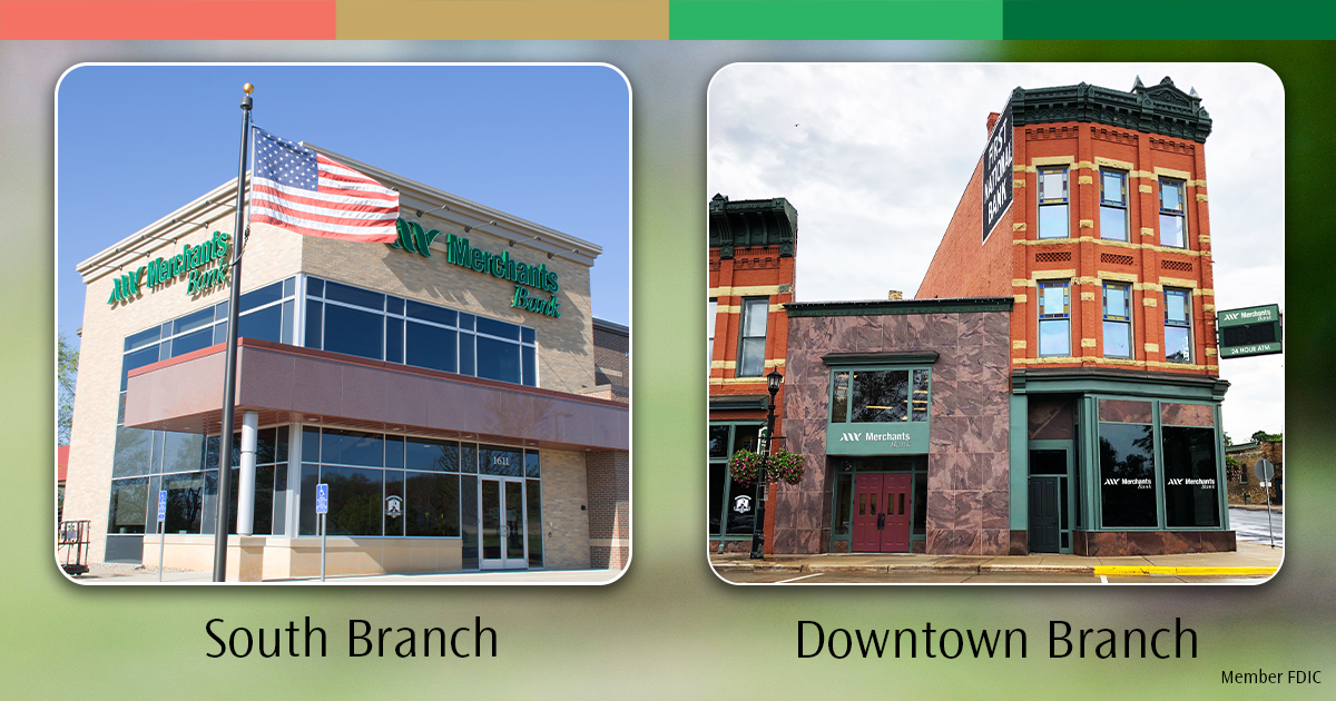 Merchants Bank - Northfield locations