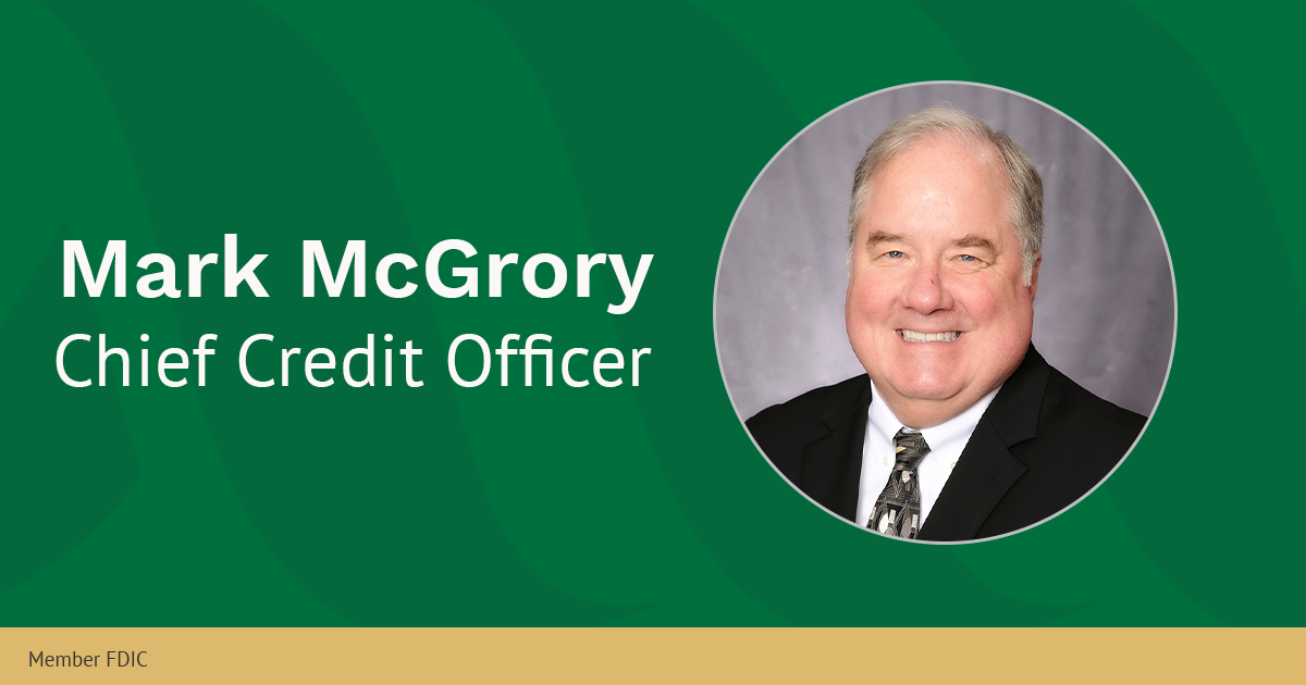Mark McGrory, Chief Credit Officer