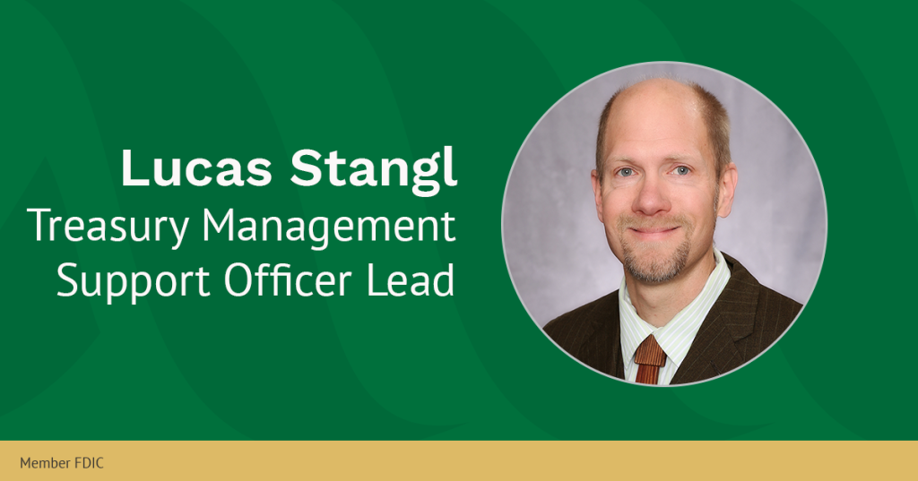 Lucas Stangl, Treasury Management Support Officer Lead