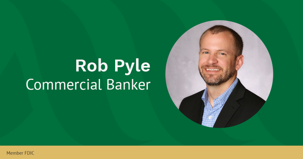 Rob Pyle, Commercial Banker